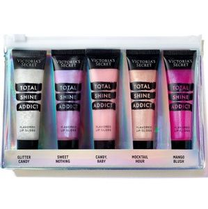 Victoria's Secret Total Shine Addict Lip Gloss Set